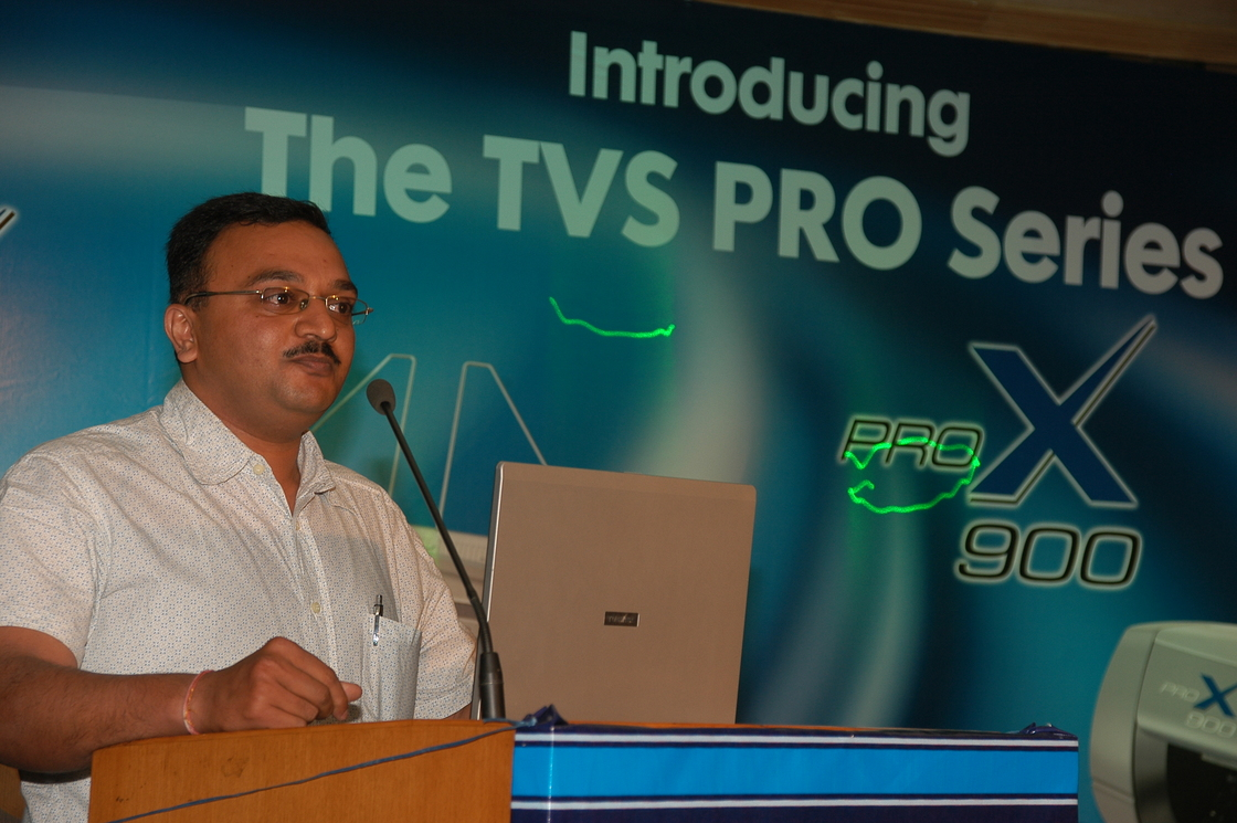 TVS PRINTER LAUNCH